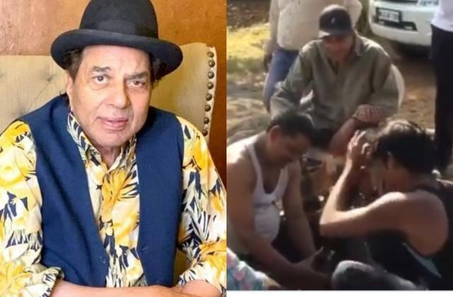 dharmendra shares a video from farmhouse