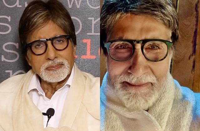 amitabh bachchan shares his selfie