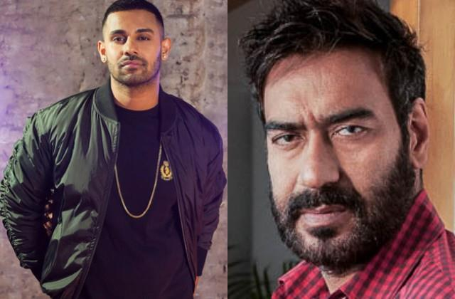 jaz dhami lashes out at ajay devgan on his tweet