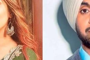 shehnaaz gill and diljit dosanjh film honsla rakh first look viral