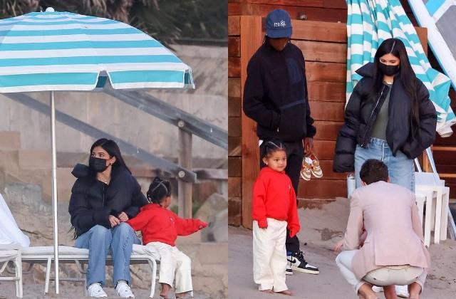 बेटी स्टॉर्मी और Ex ट्रैविस स्कॉट के साथ नजर आईं काइली जेनर, मीडिया के कैमरे में कैद हुईं ऐसी तस्वीरें