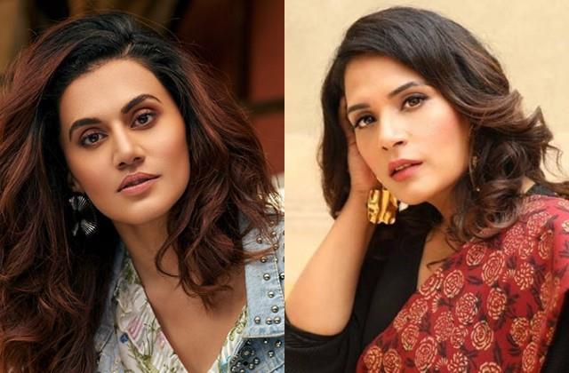taapsee pannu and richa chadda angry over jai prakash dalal