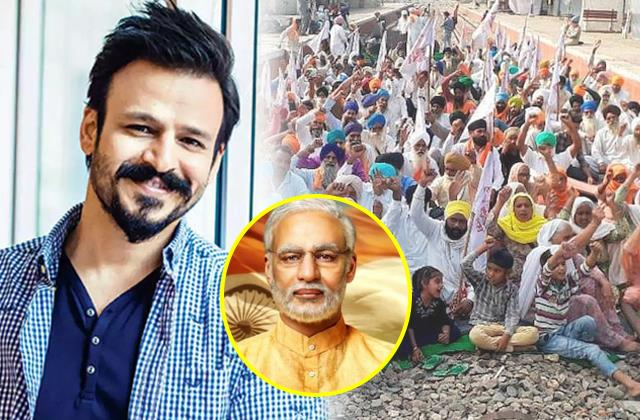 vivek oberoi extend support children belonging farmer families
