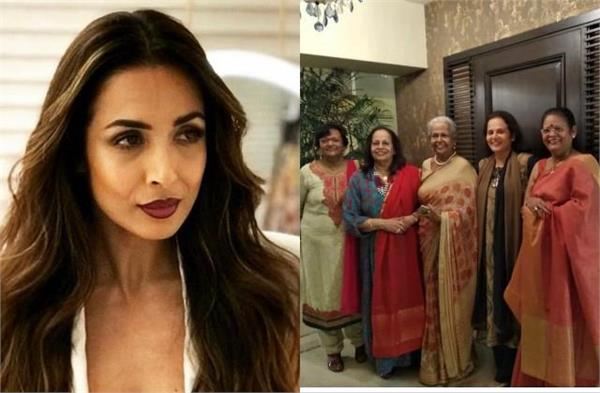 malaika arora close aunt died