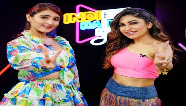 dhvani bhanushali shares secret with tulsi kumar at indie hain hum season 2