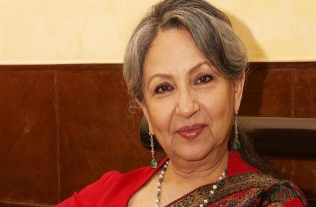 sharmila tagore statement about her health