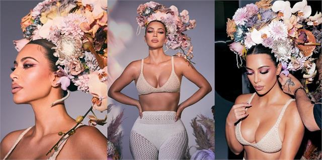 kim kardashian shares her glamorous photos
