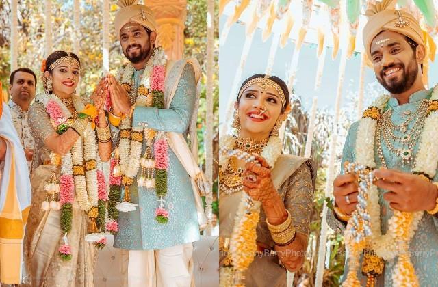 darling krishna and milana nagaraj got married