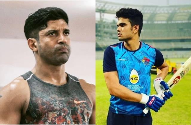 arjun tendulkar bring trolled for nepotism farhan akhtar gave that reaction