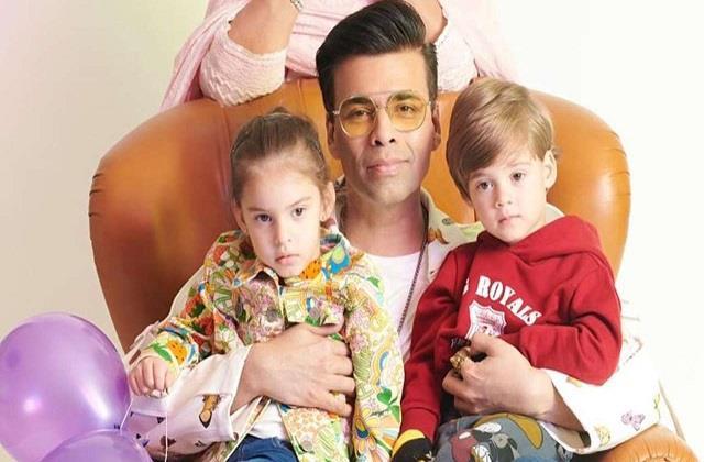 karan johar wishes birthday to her children yash and roohi