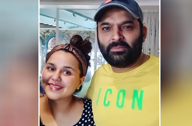 ginni chatrath first picture viral after her second delivery with kapil sharma