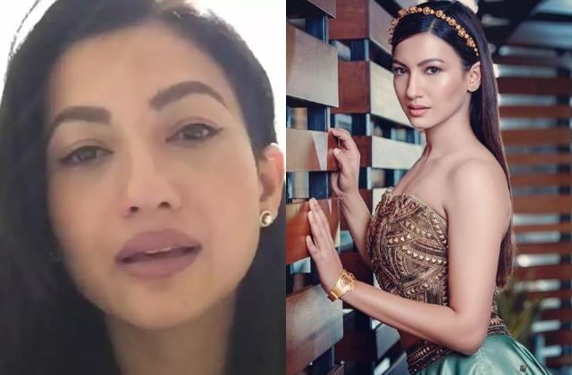 fwice ban gauahar khan for two months actress says truth will win