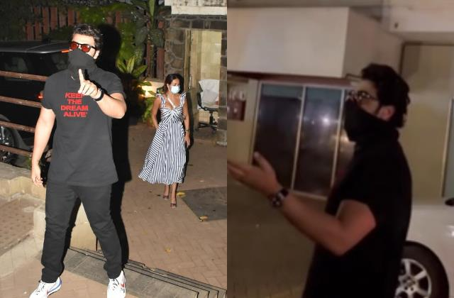 arjun kapoor lost his temper outside saif kareena house