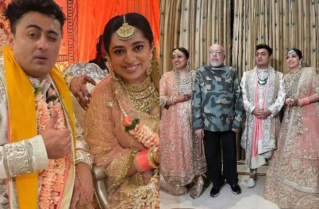 jp dutta daughter nidhi dutta get married to director benoy gandhi
