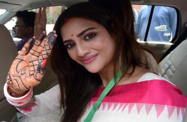 tmc mp and actress nusrat jahan tests covid 19 positive
