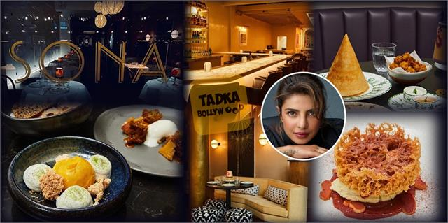 priyanka chopra shared her restaurant sona pictures on opening day