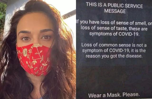 preity zinta spreads awareness about corona virus with funny post