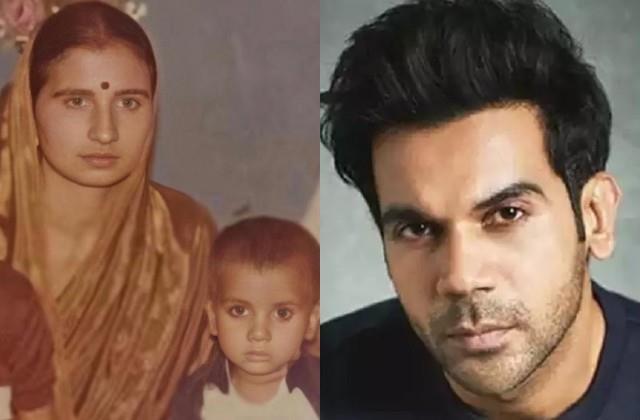 rajkummar rao shares childhood photo with mother on fifth death anniversary