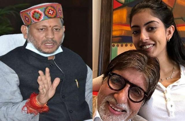 amitabh s granddaughter navya naveli nanda reacts to uttarakhand cm s statement