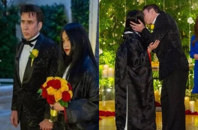 actor nicolas cage ties the knot with 31 years younger riko shibata