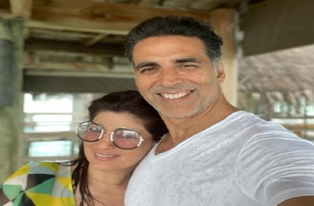 akshay kumar enjoys vacation with wife twinkle khanna