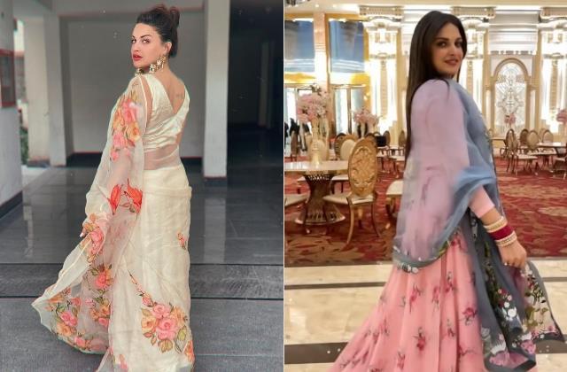 himanshi khurana flaunts her red chooda in her latest video