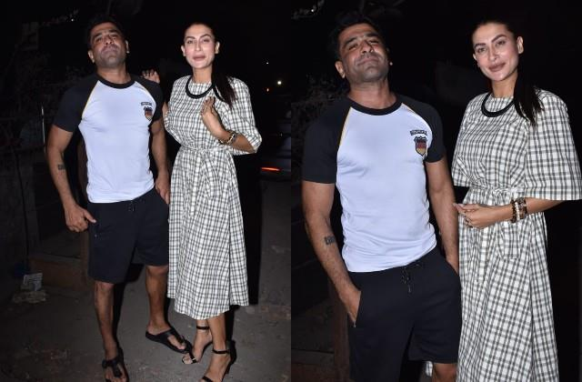 eijaz khan and pavitra punia clicked together