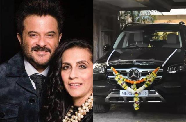 anil kapoor gift mercedes car worth 1 crore to wife sunita on her birthday