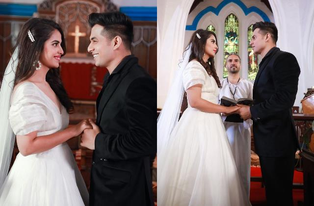 is balika vadhu fame avika gor tie knot with aadil khan