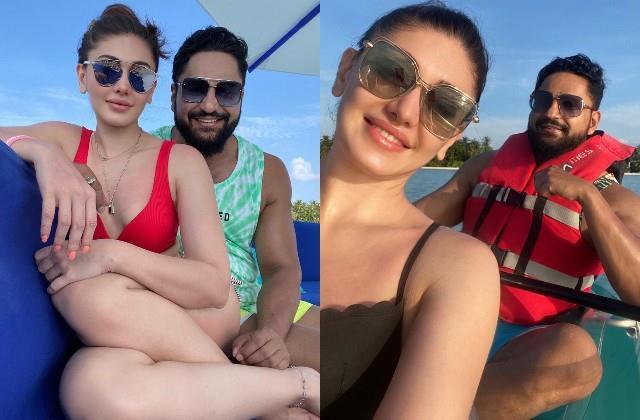 shefali shares romantic photos with husband parag tyagi from maldives