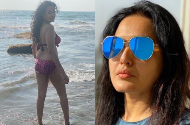 kamya punjabi trolled by sharing bikini photo on women s day