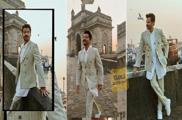 अनिल कपूर ने गेटवे ऑफ इंडिया के सामने करवाया फोटोशूट, सूट-बूट पहन दिए जबरदस्त पोज