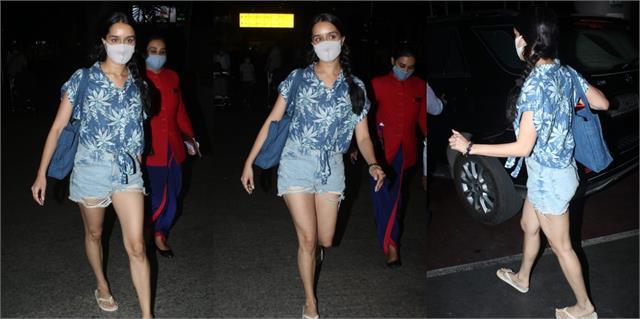 shraddha kapoor airport look viral
