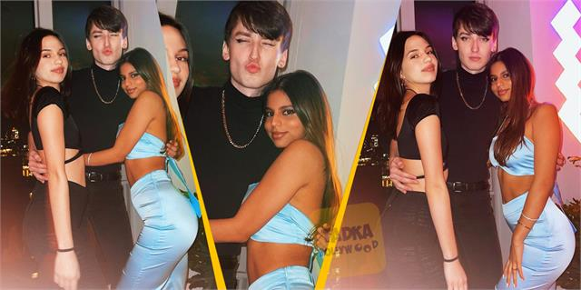 shahrukh khan daughter suhana khan late night party with her friends in new york