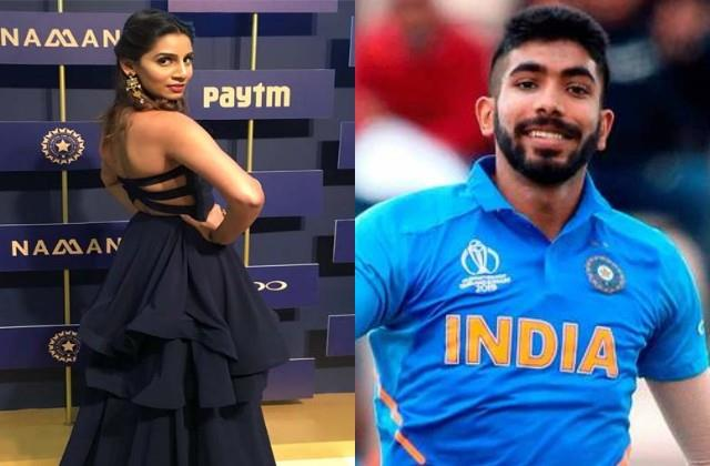 cricketer jasprit bumrah going to marry with and anchor sanjana ganesan
