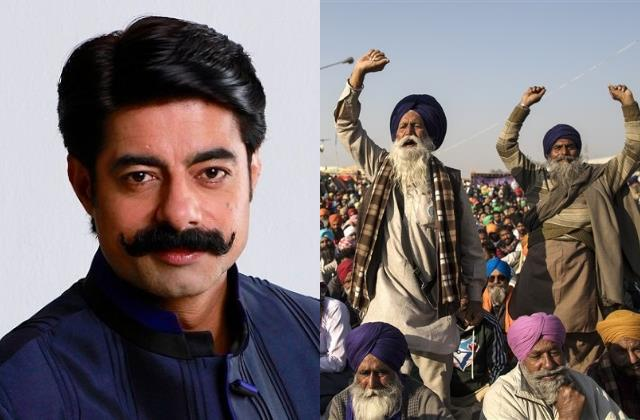 after return twitter sushant singh tweets in support of farmers protest