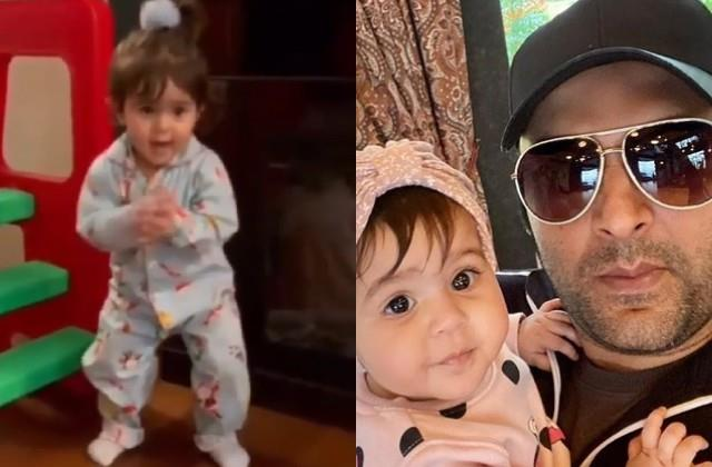kapil sharma daughter anayra dances on yo yo honey singh song