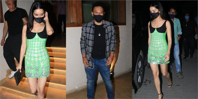 shraddha kapoor reached boyfriend rohan shrestha birthday bash