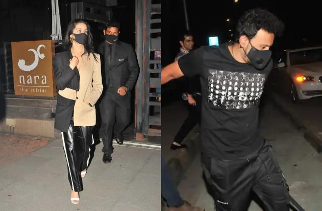 shraddha kapoor dinner date with rumoured boyfriend rohan shrestha
