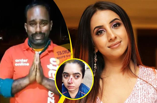sanjjanaa galrani share her thought on zomato delivery boy case