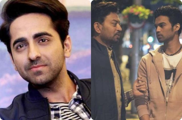 ayushmann khurrana write an emotional poem for irrfan khan after met actor son