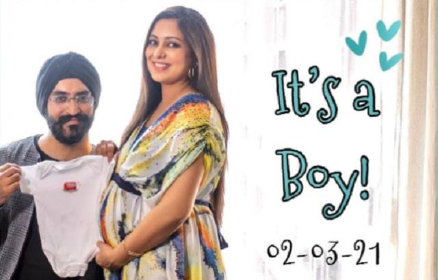 harshdeep kaur gave birth to son