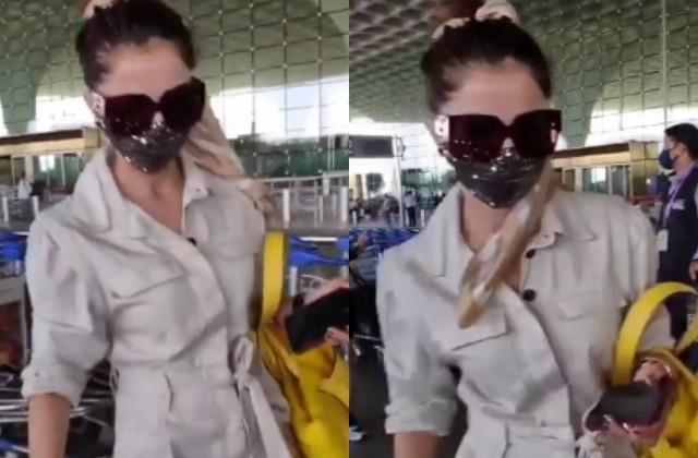 rubina dilaik ignored paparazzi  fans get angry