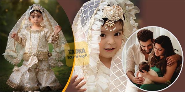 jay bhanushali mahhi vij share her daughter tara bridal looks pictures