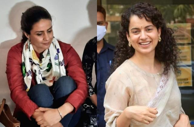 gul panag reached delhi in support of farmers and keep silence on kangana