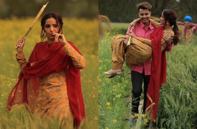 पंजाबी कुड़ी बन जैस्मीन भसीन ने फैंस के दिलों पर चलाई छुरियां, खेत में कभी गन्ना खाते तो कभी मस्ती करती दिखीं एक्ट्रेस