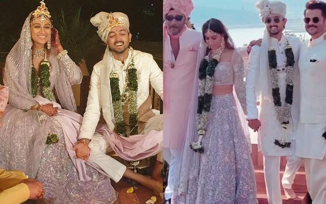 shraddha kapoor cousin priyank sharma wedding photos viral