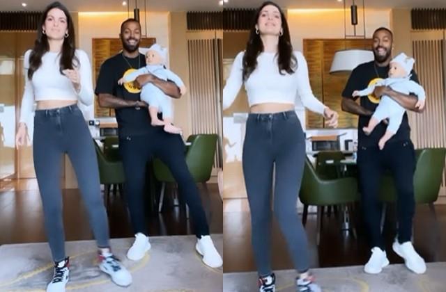 नताशा ने पति हार्दिक और बेटे के साथ Don't Rush सॉन्ग पर किया डांस, खूब देखा जा रहा है वीडियो