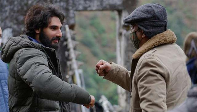 ahan shetty completed his dedut film tadap shooting