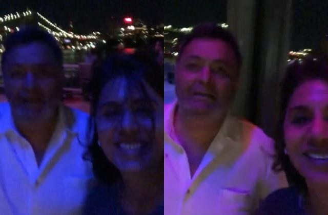 neetu kapoor shares last new york trip video with rishi kapoor
